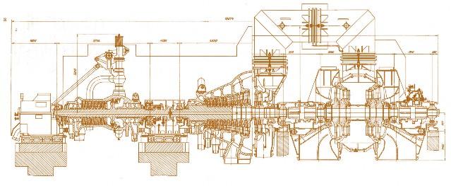 турбины Т-110/120-130