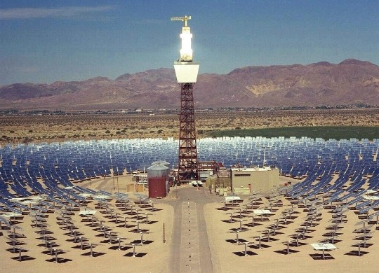 Рис. 2.8. Солнечная термодинамическая электростанция «Solar Two»