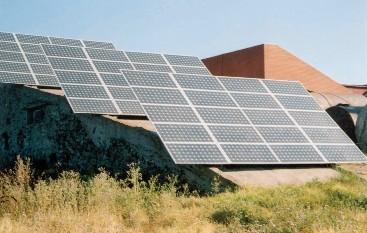 Рис. 2.12. Фотоэлектрическая система энергоснабжения комплекса на о. Змеиный мощностью 10 кВт